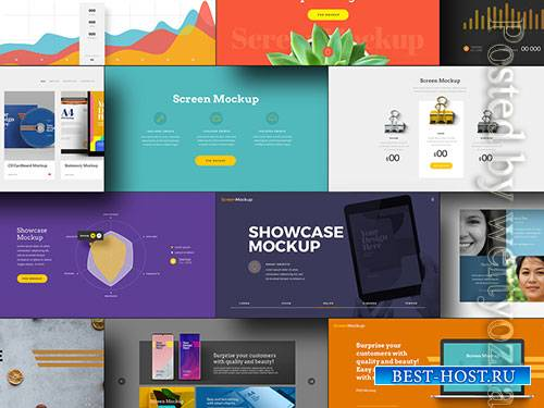 Presentation Showcase Mockup
