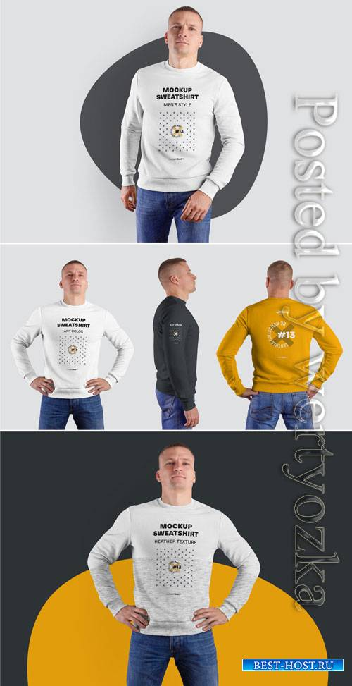 4 Mockup Sweatshirts