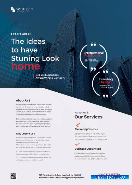 Corporate Business - Premium flyer psd template