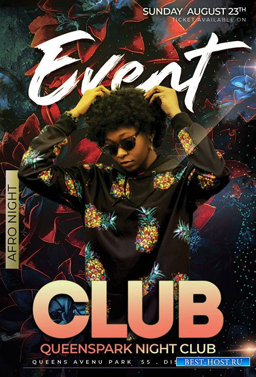 Club Event - Premium flyer psd template