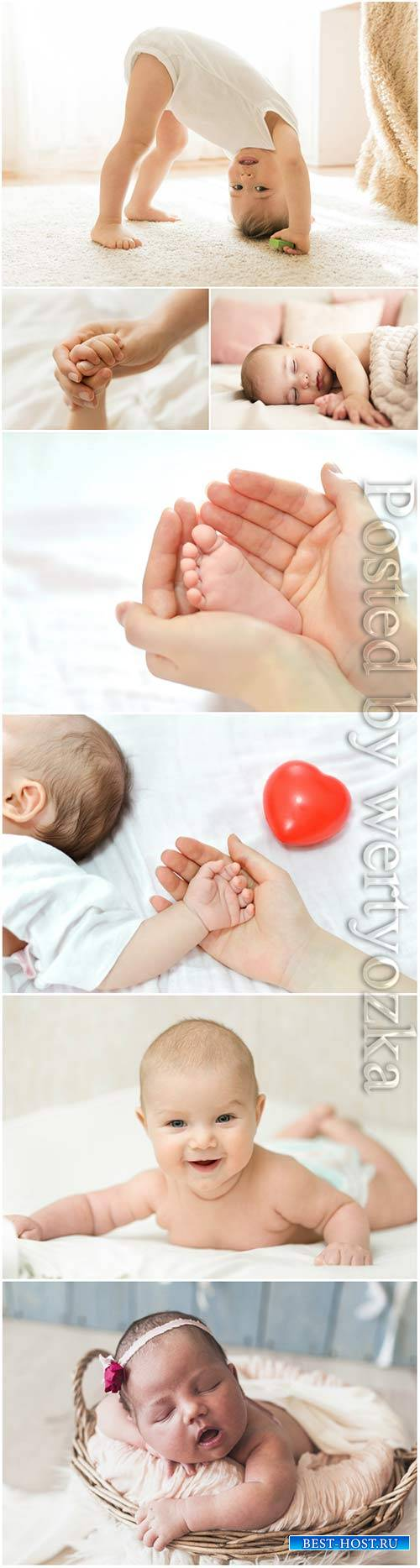 Wonderful little kids stock photo