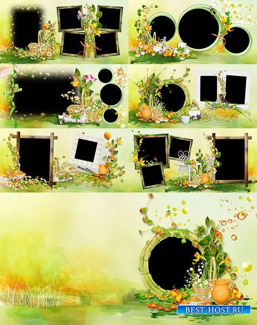 Детский фотоальбом - Наше лето