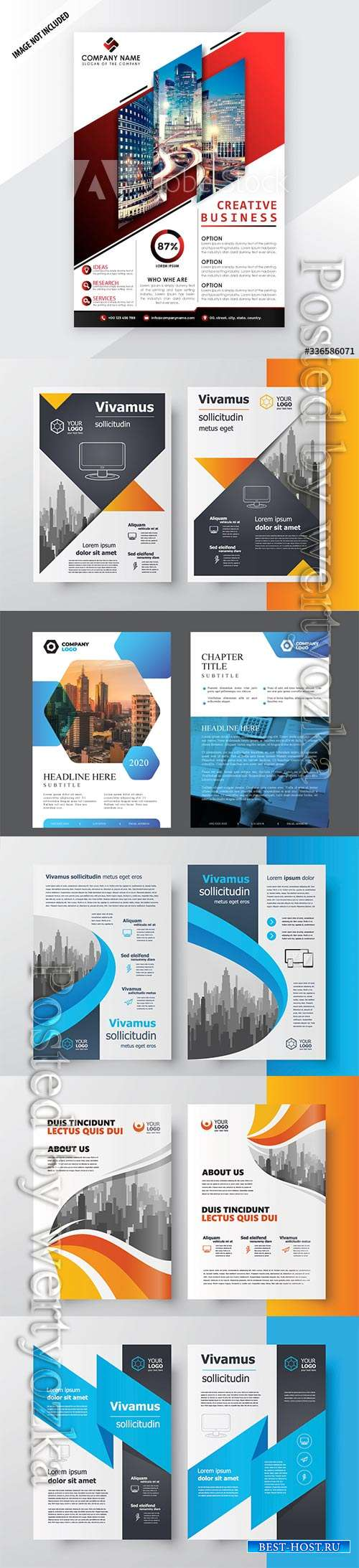 Creative professional business flyer template