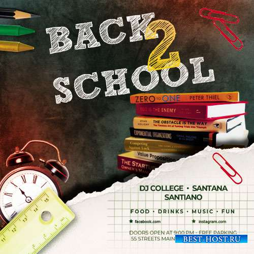 Back 2 School vol.2 - Premium flyer psd template