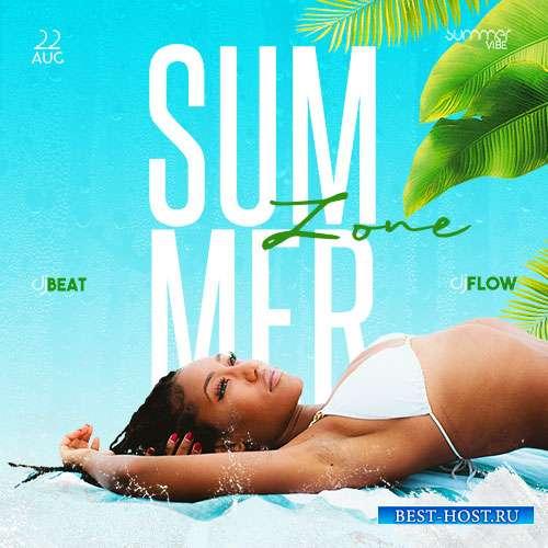 Summer Zone - Premium flyer psd template