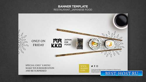 Make-up сollection of sushi templates for restaurant vol 12