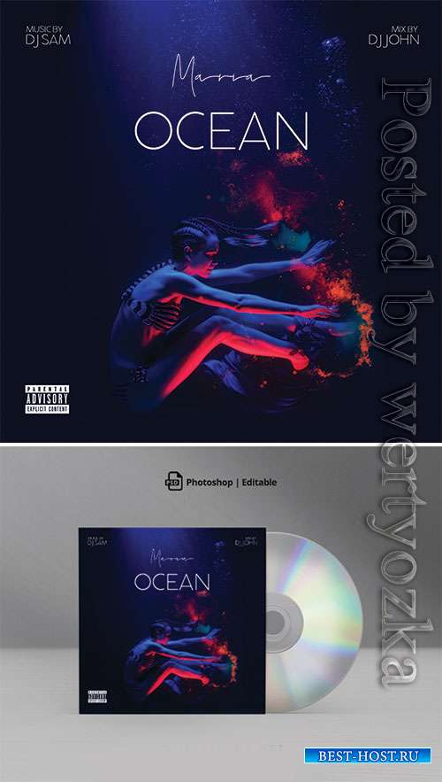 Ocean Mixtape CD Cover Artwork