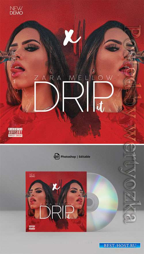 Drip it Mixtape CD Cover Artwork