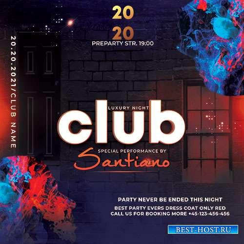 Luxury Club - Premium flyer psd template