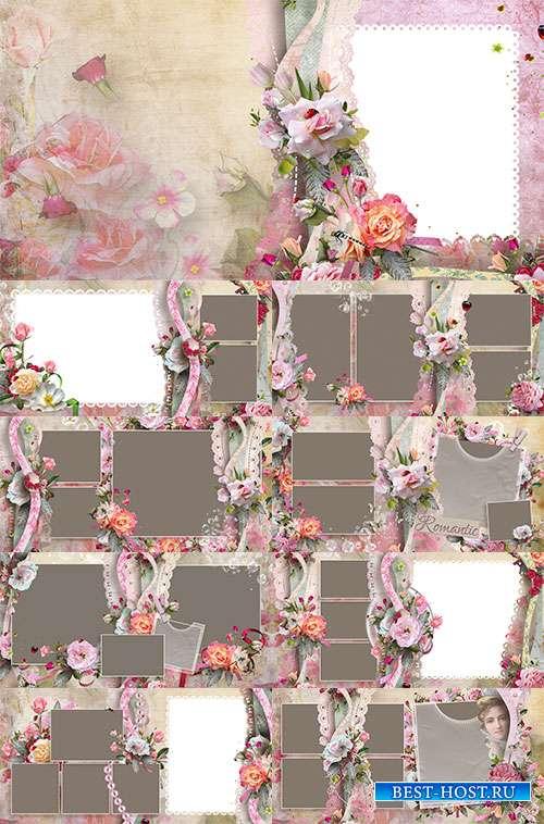 Фотоальбом с розами