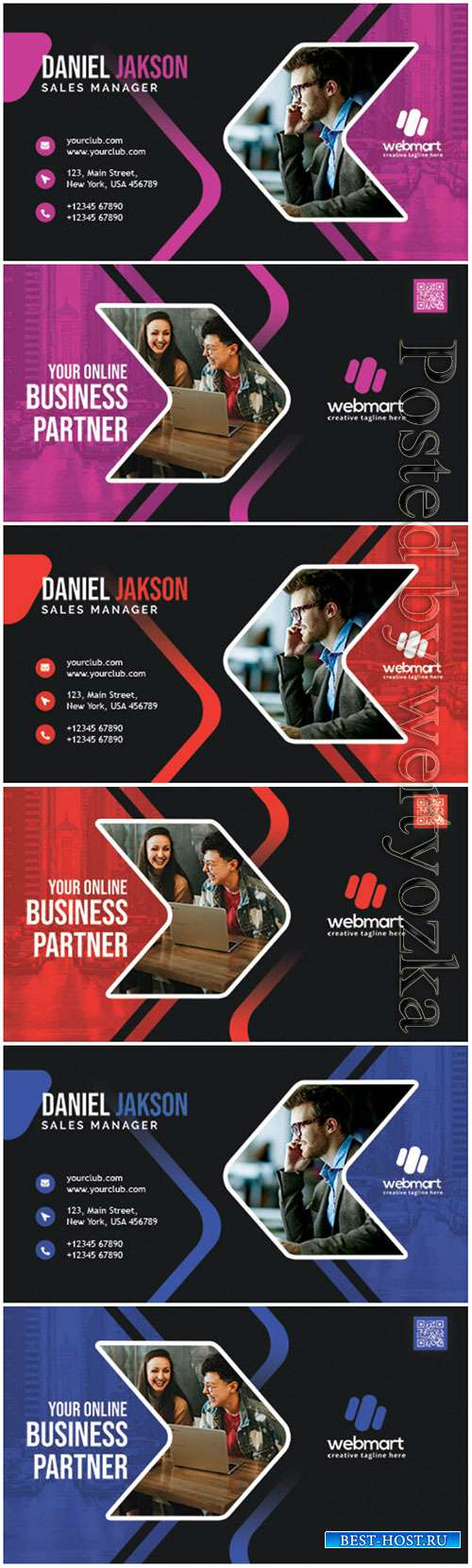 Creative Designer Business Card PSD