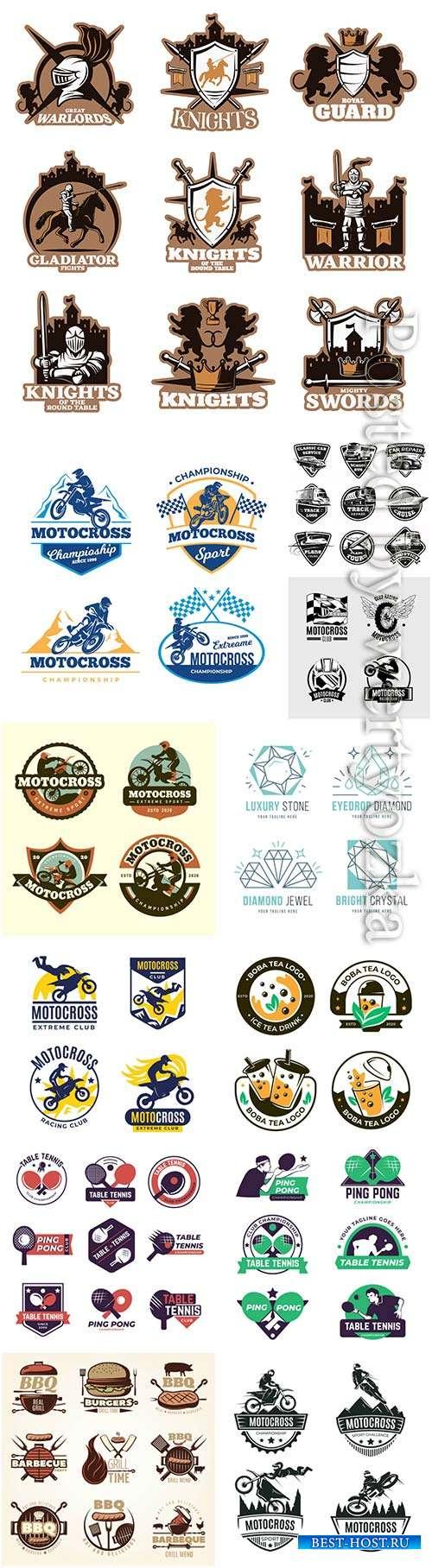 Logos in vector