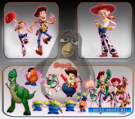 Клипарты для фотошопа - История игрушек