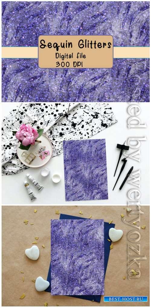 Sequin Textures Glitter Digital Paper