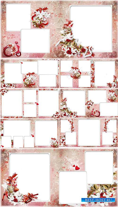 Фотоальбом с цветами