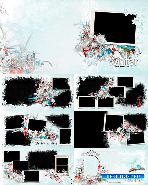 Фотоальбом - Зимняя сказка стучится к вам в дверь