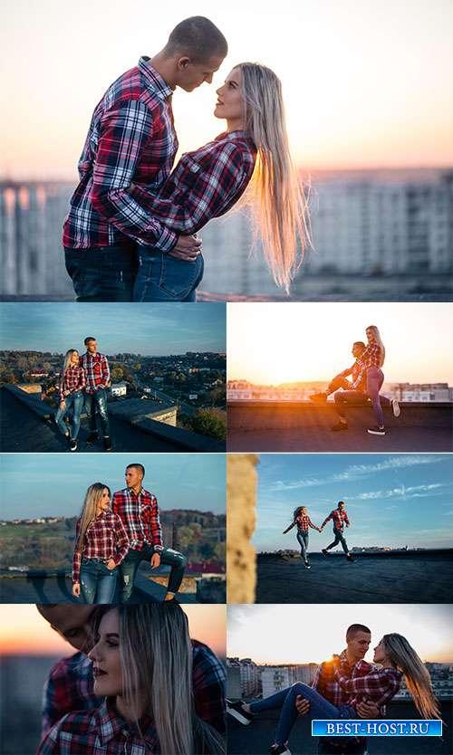 Вечернее свидание - Фотоклипарт