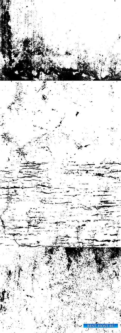 Маски для обработки фотографий под старину - Векторный клипарт