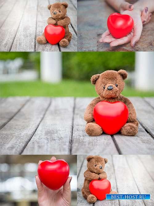 Фоны для влюблённых с сердечком - Растровый клипарт