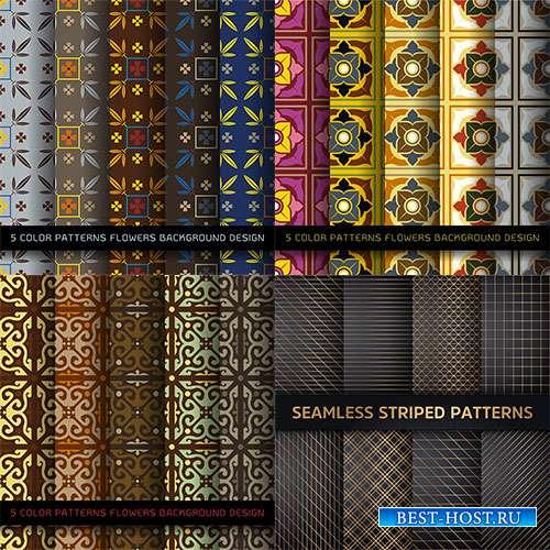 Калейдоскоп декоративных узоров - Векторные фоны