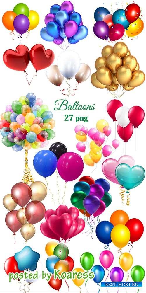 Клипарт png Воздушные шарики -  Png clipart  Balloons