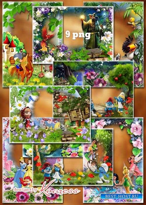 Детские рамки png - Kids png frames