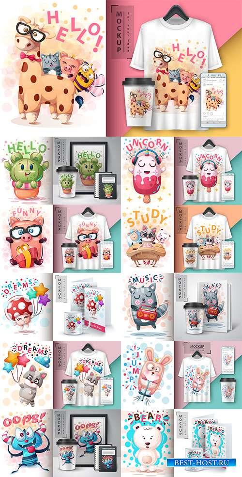 Идеи для творчества - 19 - Векторный клипарт / Ideas for creativity - 19 - Vector Graphics