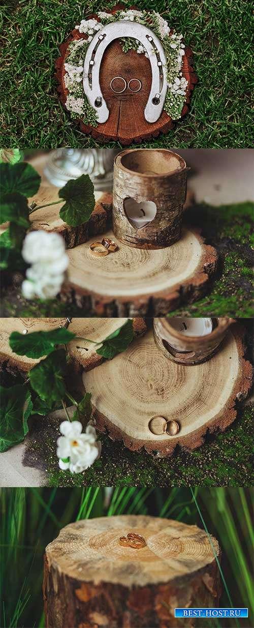 Фоны со свадебной тематикой - Растровый клипарт