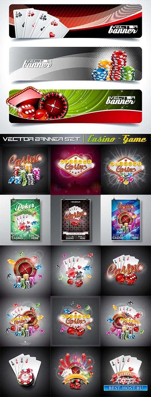 Поймай удачу в казино - Векторный клипарт