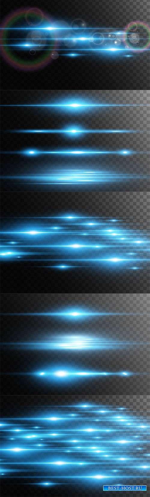 Световые линии - Векторный клипарт