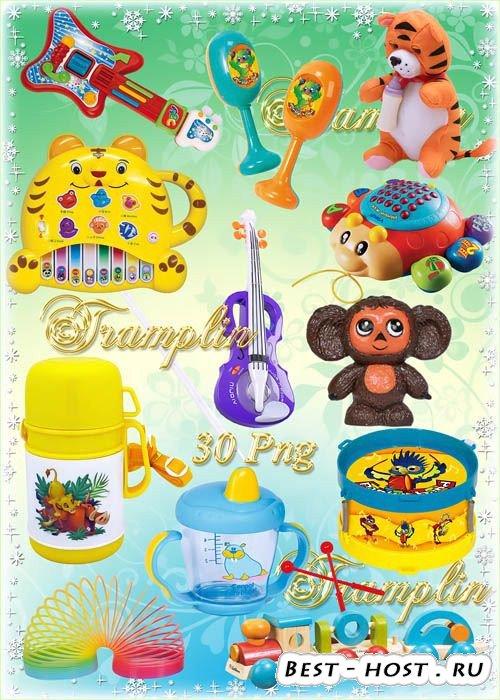 Клипарт в Png на прозрачном фоне – Все для детей – Игрушки, погремушки и др ...