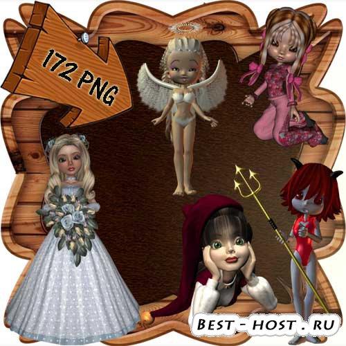 Скрап-набор - Мир фей и волшебства 15