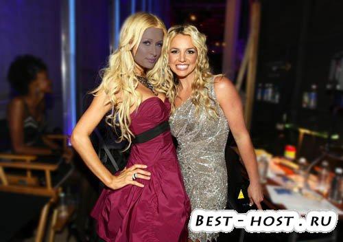 Женский шаблон - Britney Spears и вы