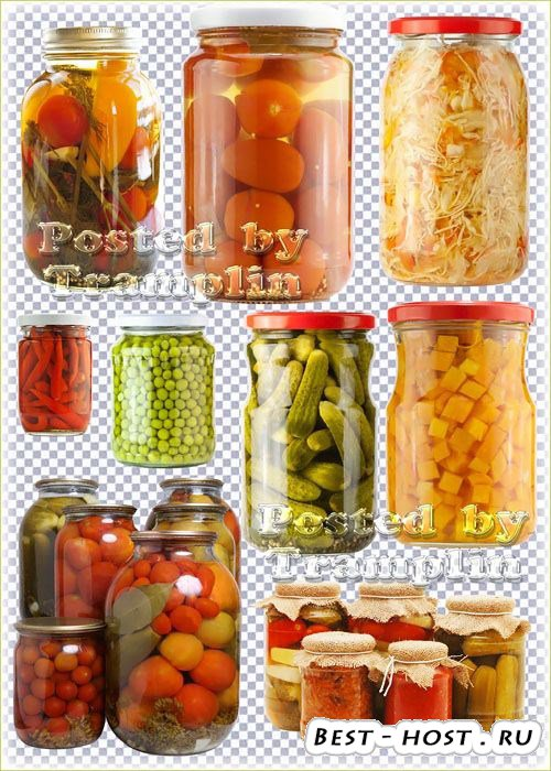Маринованные овощи - Соленья на зиму – огурцы, помидоры, перец, чеснок, гор ...