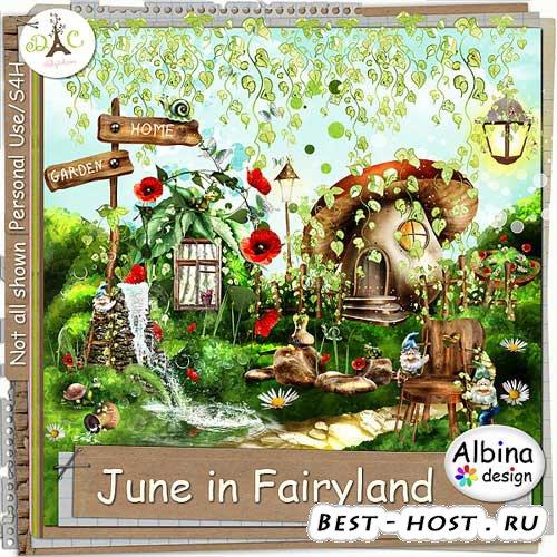 Загадочный детский скрап-набор - Лето в стране сказок