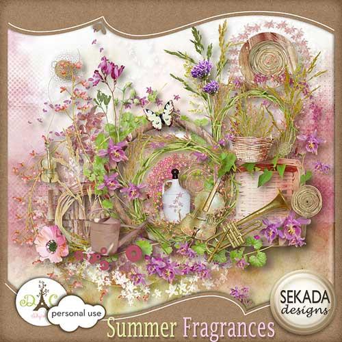 Летний скрап-набор - Летние запахи
