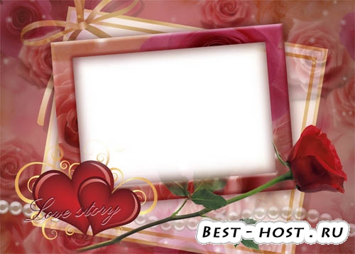 Рамка для влюбленных - Love story!
