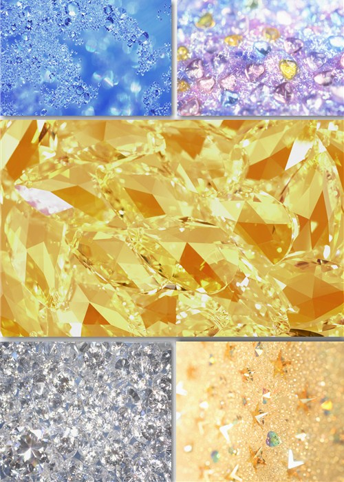 Клипарт - Фоны из драгоценных камней