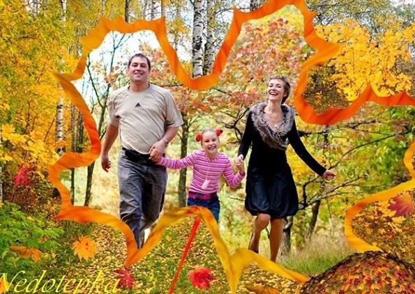 Семейная рамка – Листопад