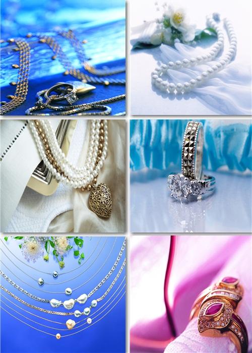 Клипарт растровый - Медальоны, кольца, бусы
