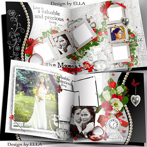 Romantic photobook-The Moment of our Love
