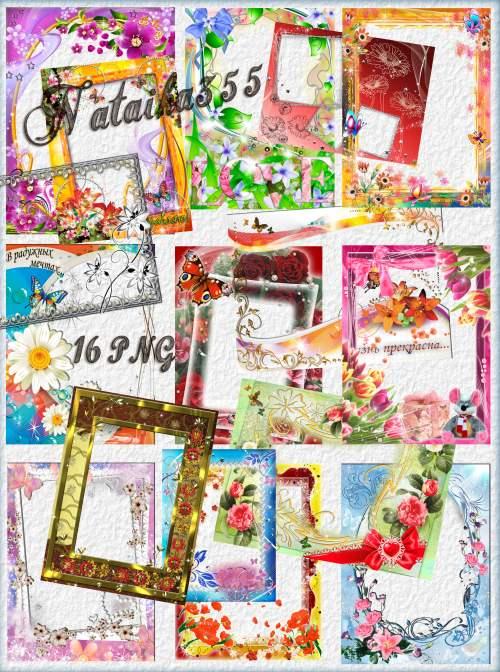 Рамки для ваших фото - От ромашки до нежного тюльпана