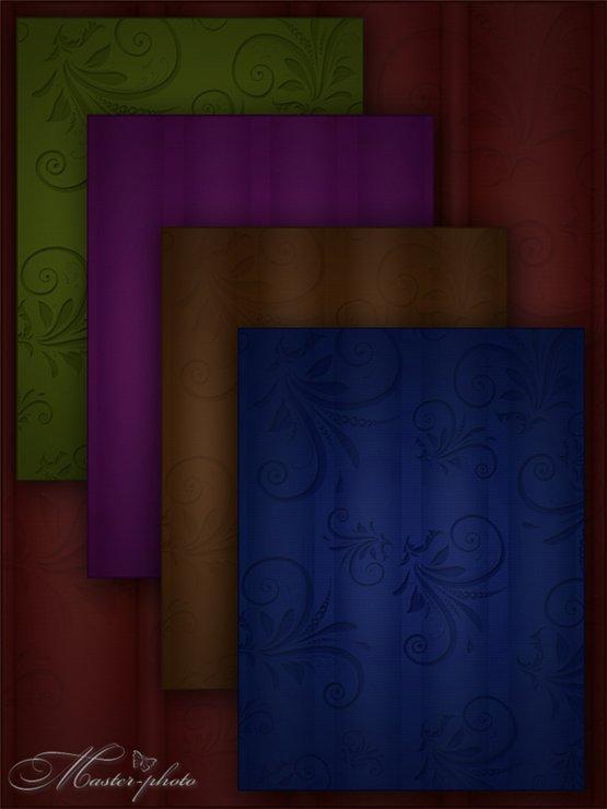 Темные декоративные фоны для творчества в фотошопе - Магия ночи