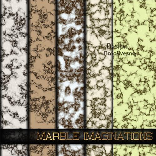Текстуры для Photoshop – Мраморные фантазии