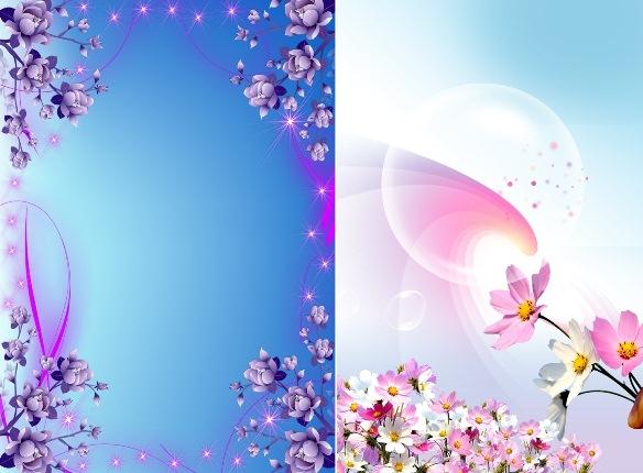 Фоны из Ярких цветов_PSD(многослойные)