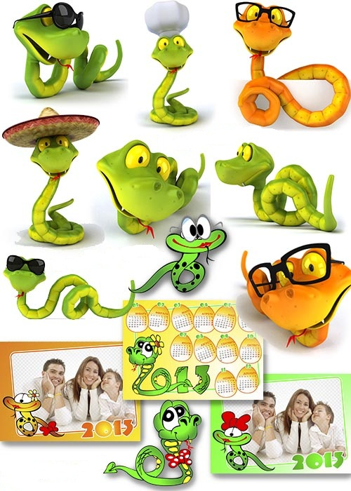 Забавные Змейки 2013