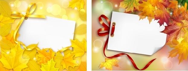Осенние Рамочки_PSD(многослойные)