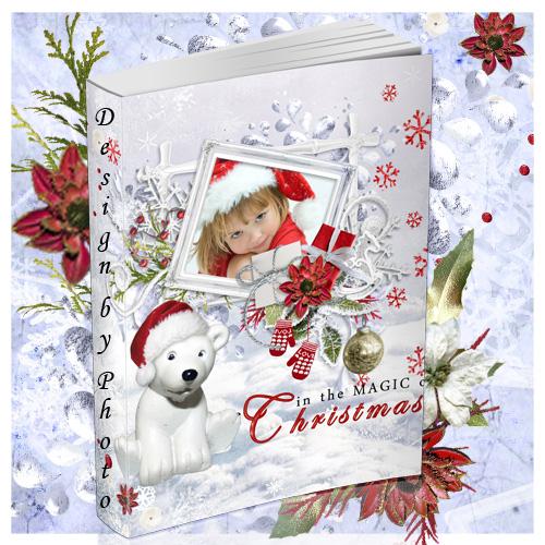Новогодняя фотокнига - Счастливого Рождества