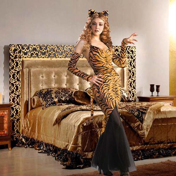 Шаблон  женский -Тигрица