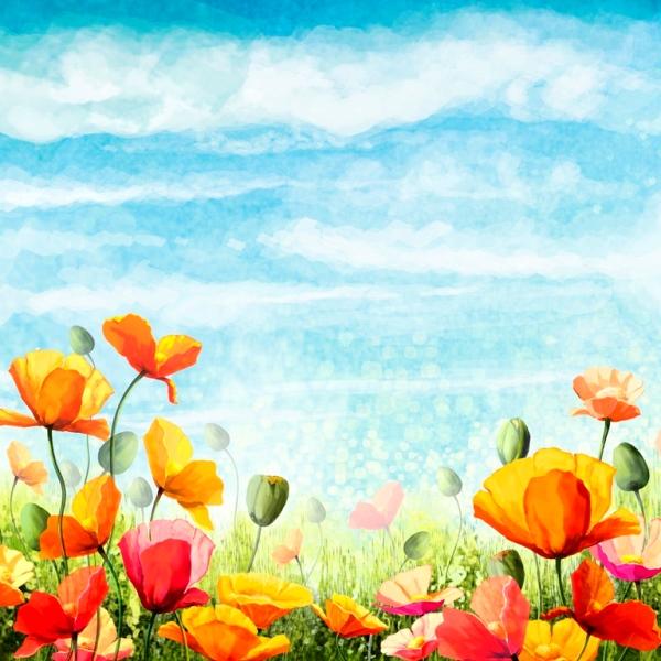 Красивые цветы__PSD(многослойные)
